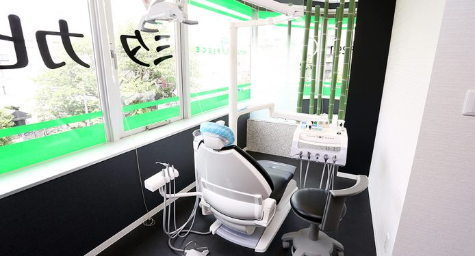 全室個室の診療室